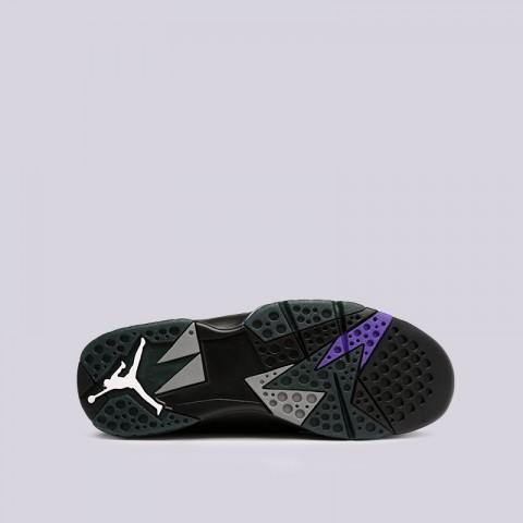 мужские чёрные  кроссовки jordan 7 retro 304775-053 - цена, описание, фото 2