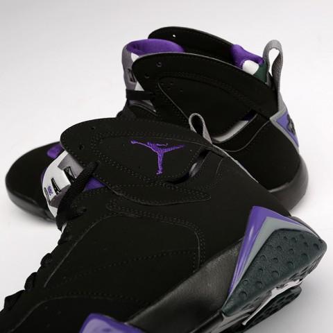 мужские чёрные  кроссовки jordan 7 retro 304775-053 - цена, описание, фото 4