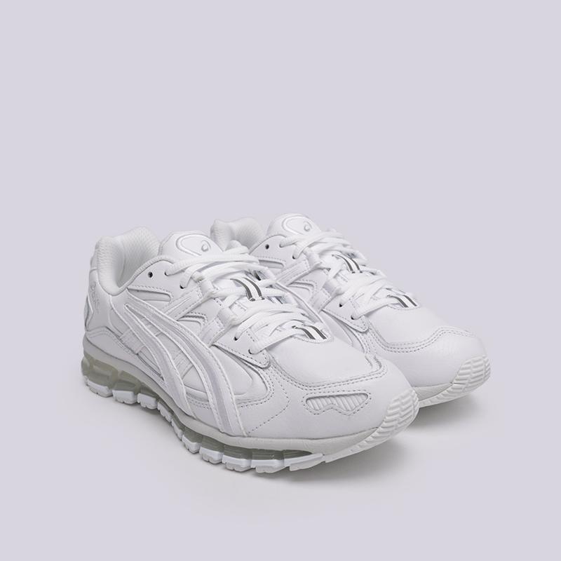 мужские белые  кроссовки asics gel-kayano 5 360 1021A161-100 - цена, описание, фото 3