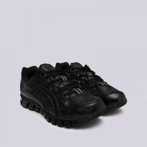 мужские чёрные  кроссовки asics gel-kayano 5 360 1021A161-001 - цена, описание, фото 3