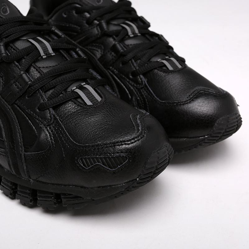 мужские чёрные  кроссовки asics gel-kayano 5 360 1021A161-001 - цена, описание, фото 4