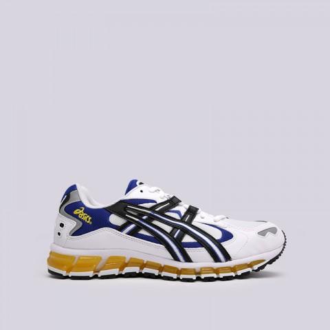 мужские белые  кроссовки asics tiger gel-kayano 5 360 1021A159-100 - цена, описание, фото 1