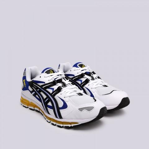 мужские белые  кроссовки asics tiger gel-kayano 5 360 1021A159-100 - цена, описание, фото 3