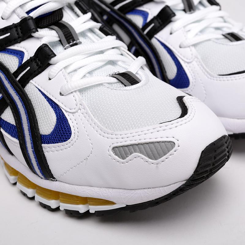 мужские белые  кроссовки asics tiger gel-kayano 5 360 1021A159-100 - цена, описание, фото 4