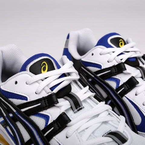 мужские белые  кроссовки asics tiger gel-kayano 5 360 1021A159-100 - цена, описание, фото 5