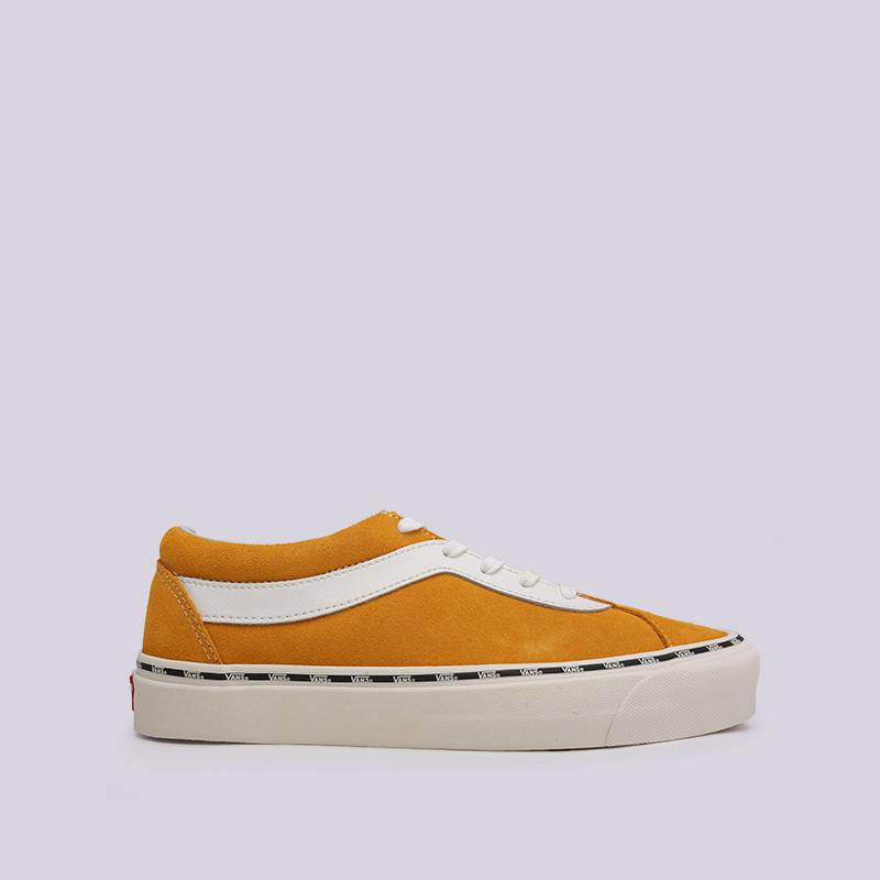 оранжевые  кеды vans bold ni VA3WLPVLHM - цена, описание, фото 1