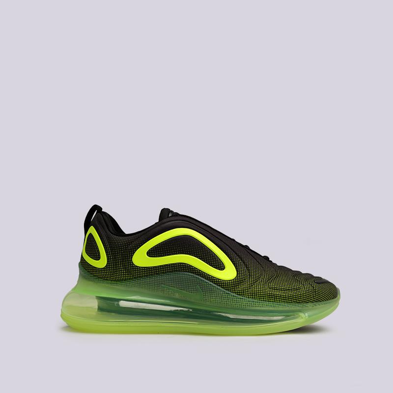 50573914 мужские чёрные, зелёные кроссовки nike air max 720 AO2924-008 - цена,  описание
