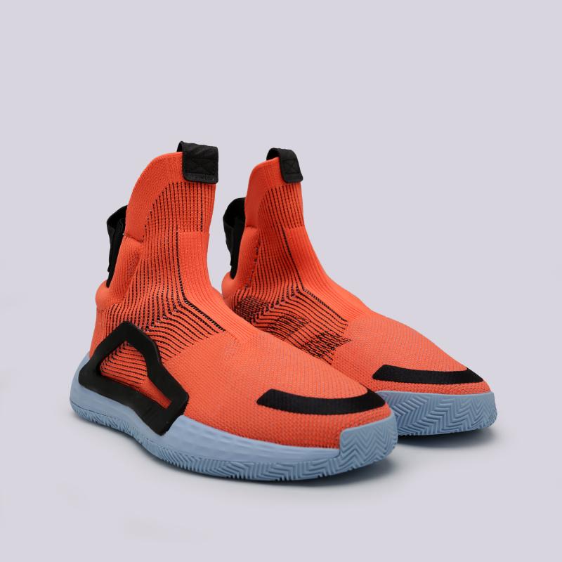мужские оранжевые  кроссовки adidas n3xt l3v3l F97259 - цена, описание, фото 3