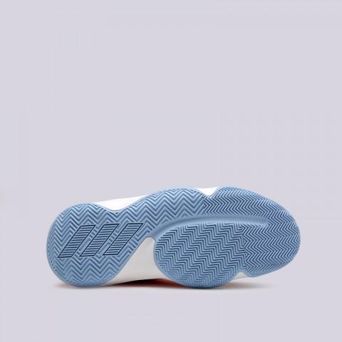 мужские оранжевые, серые  кроссовки adidas harden b/e 3 F97189 - цена, описание, фото 2