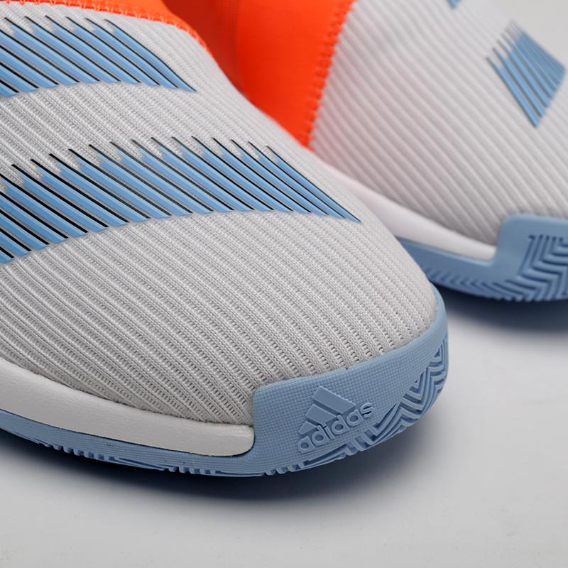 мужские оранжевые, серые  кроссовки adidas harden b/e 3 F97189 - цена, описание, фото 4
