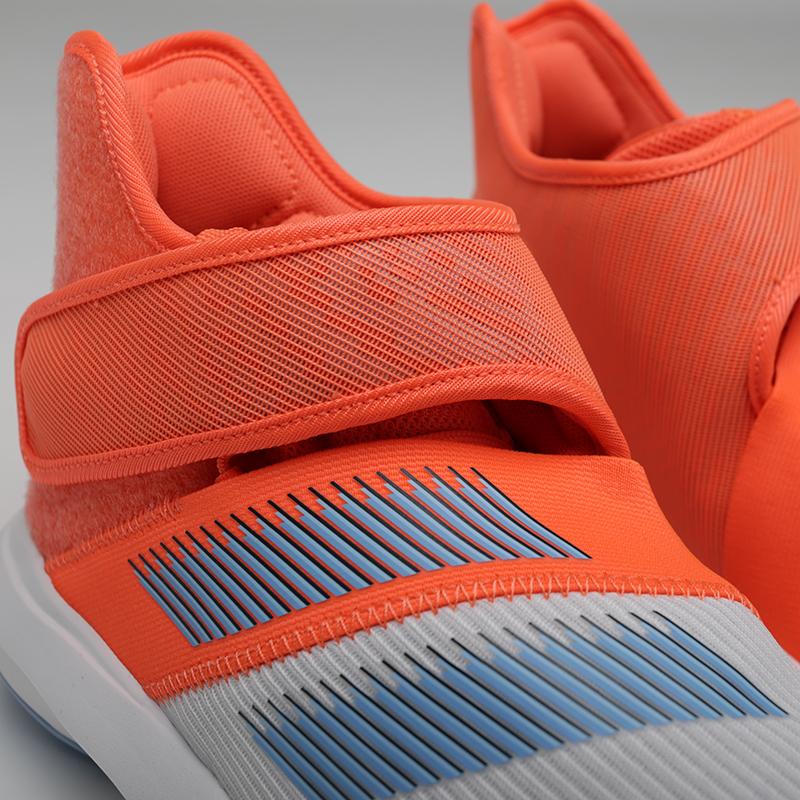 мужские оранжевые, серые  кроссовки adidas harden b/e 3 F97189 - цена, описание, фото 5