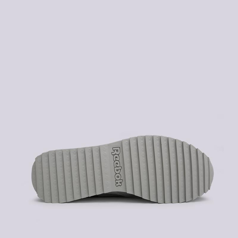 женские серые  кроссовки reebok cl lthr ati 90s w DV6465 - цена, описание, фото 2