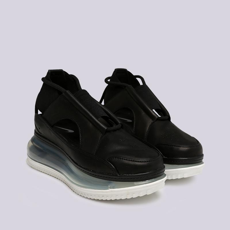 женские чёрные  сандалеты nike wmns air max ff 720 AO3189-001 - цена, описание, фото 2
