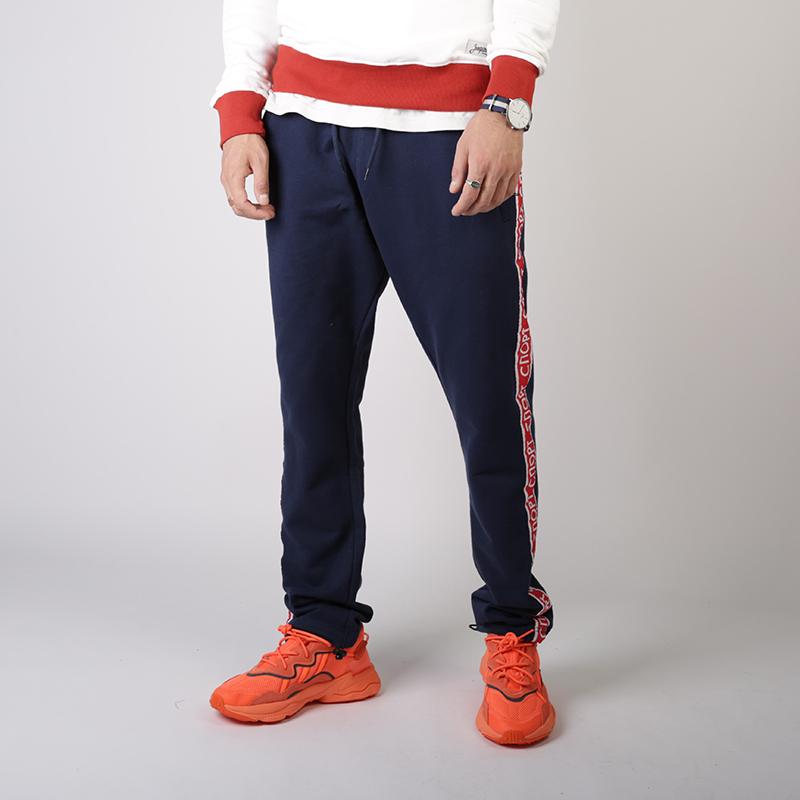 мужские синие  брюки запорожец heritage sport pant Sport Pant 1-черный - цена, описание, фото 1