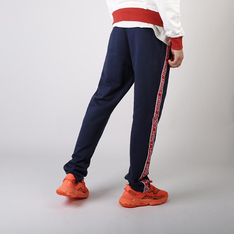 мужские синие  брюки запорожец heritage sport pant Sport Pant 1-черный - цена, описание, фото 3