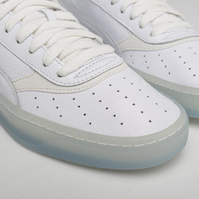 мужские белые  кроссовки puma cali-0 diamond supply 36939901 - цена, описание, фото 4