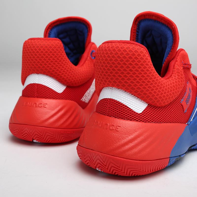мужские красные, синие  кроссовки adidas d.o.n. issue #1 EF2400 - цена, описание, фото 7