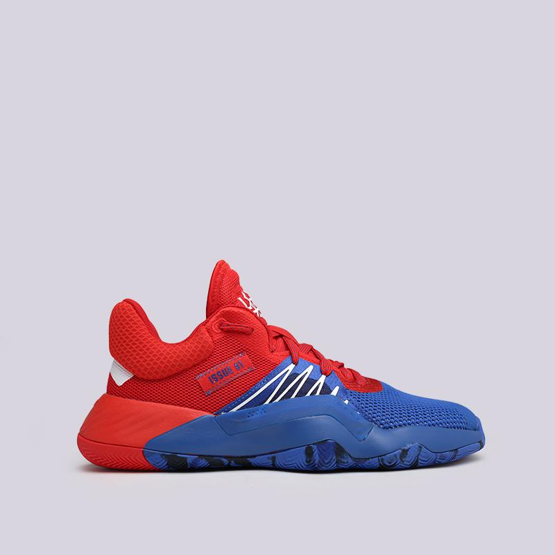 мужские красные, синие  кроссовки adidas d.o.n. issue #1 EF2400 - цена, описание, фото 1