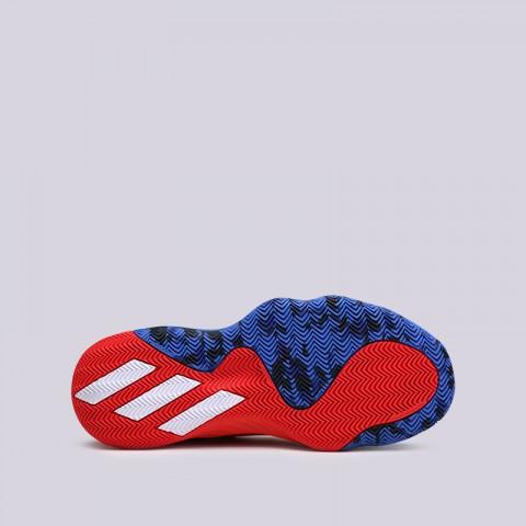 мужские красные, синие  кроссовки adidas d.o.n. issue #1 EF2400 - цена, описание, фото 3