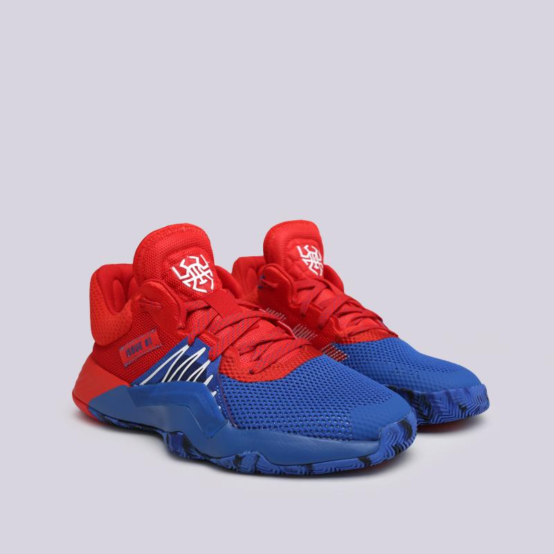 мужские красные, синие  кроссовки adidas d.o.n. issue #1 EF2400 - цена, описание, фото 2
