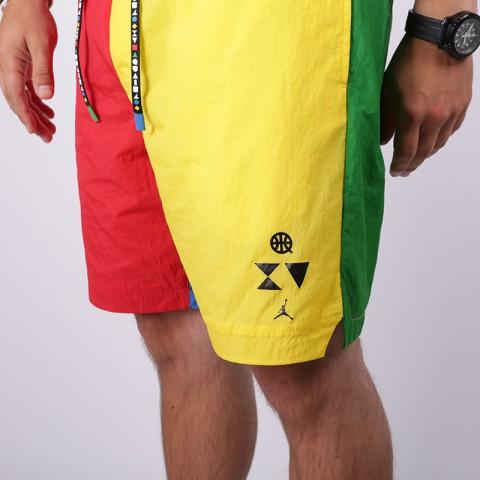 мужские мультиколор  шорты jordan pool short quai54 CK0605-657 - цена, описание, фото 4