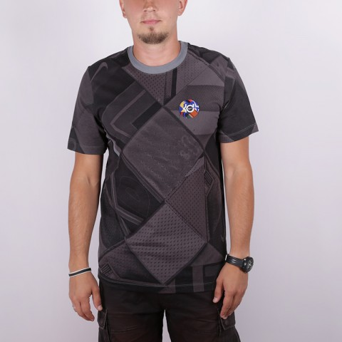 мужскую серую  футболка nike kd BV8328-065 - цена, описание, фото 1