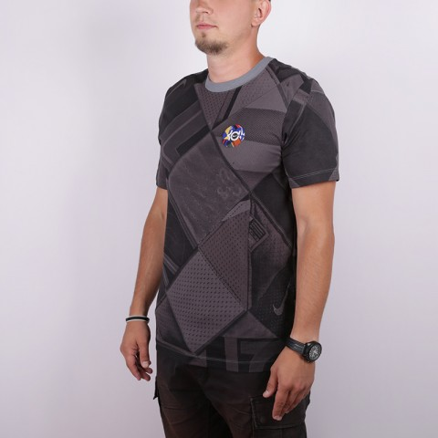 мужскую серую  футболка nike kd BV8328-065 - цена, описание, фото 3