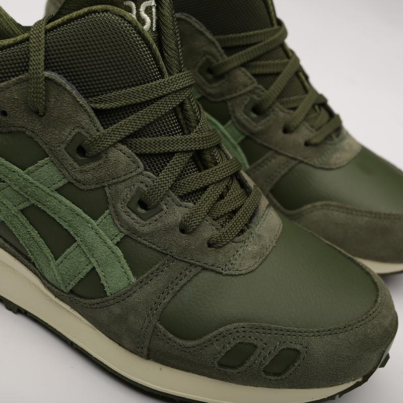 мужские зелёные  кроссовки asics gel-lyte mt 1193A035-300 - цена, описание, фото 5