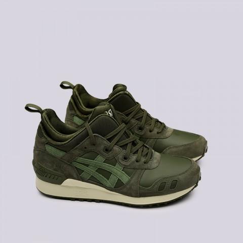 мужские зелёные  кроссовки asics gel-lyte mt 1193A035-300 - цена, описание, фото 3
