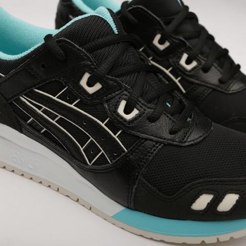 мужские чёрные  кроссовки asics gel-lyte iii 1191A223-001 - цена, описание, фото 5