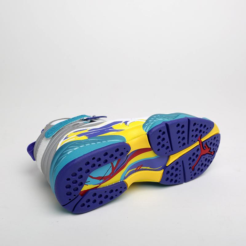 женские белые  кроссовки jordan wmns 8 retro CI1236-100 - цена, описание, фото 2