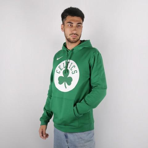 мужскую зелёную  толстовка nike boston celtics hoody AV0318-312 - цена, описание, фото 2