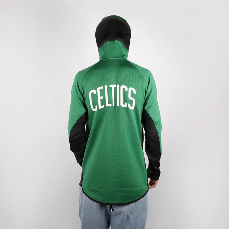 мужскую зелёную  толстовка nike boston celtics hoody AT8448-312 - цена, описание, фото 3