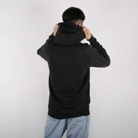 мужскую чёрную  толстовка jordan psg hoody BQ8350-010 - цена, описание, фото 3