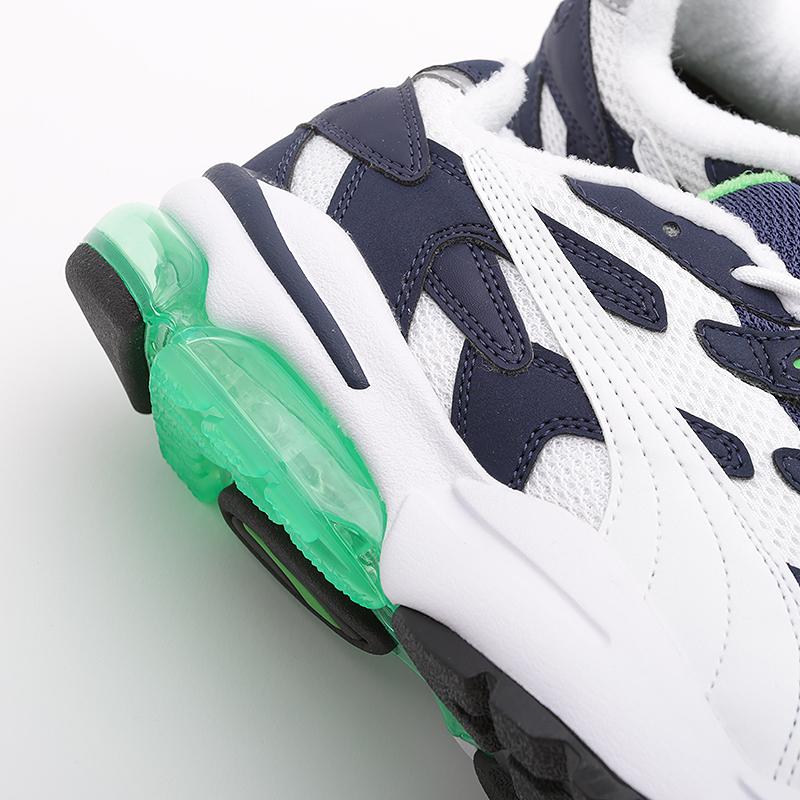 мужские синие, белые, зеленые  кроссовки puma cell alien og 36980102 - цена, описание, фото 2
