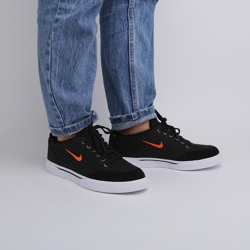 мужские чёрные  кроссовки nike gts '16 txt CJ9694-001 - цена, описание, фото 6