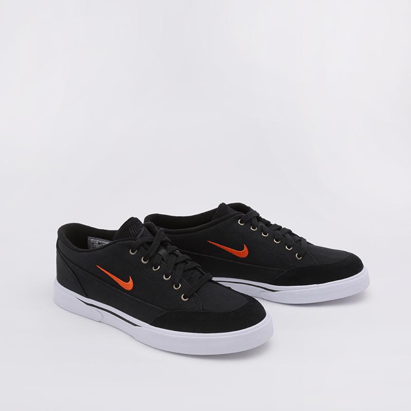 мужские чёрные  кроссовки nike gts '16 txt CJ9694-001 - цена, описание, фото 1