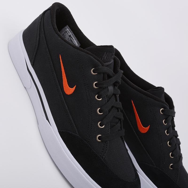мужские чёрные  кроссовки nike gts '16 txt CJ9694-001 - цена, описание, фото 5