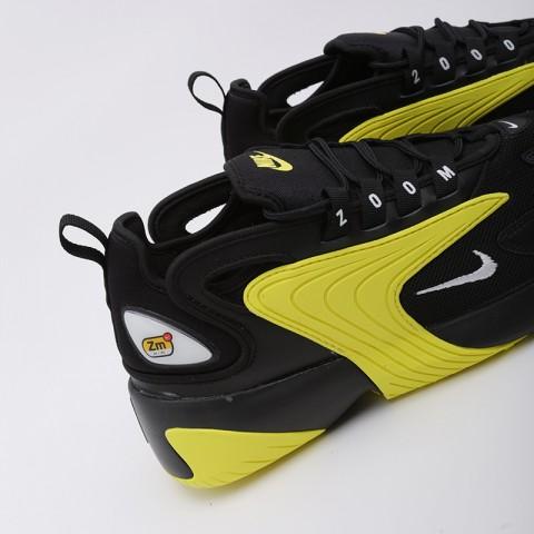 мужские чёрные, жёлтые  кроссовки nike zoom 2k AO0269-006 - цена, описание, фото 5