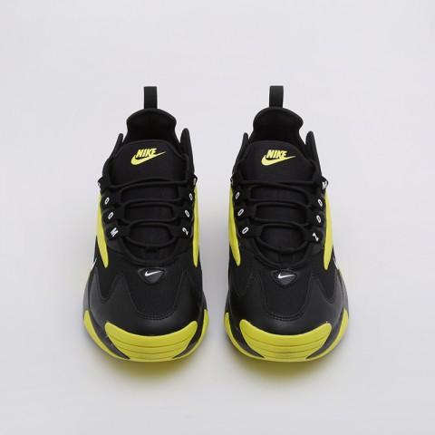 мужские чёрные, жёлтые  кроссовки nike zoom 2k AO0269-006 - цена, описание, фото 4