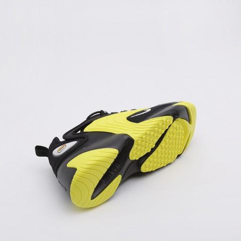 мужские чёрные, жёлтые  кроссовки nike zoom 2k AO0269-006 - цена, описание, фото 3