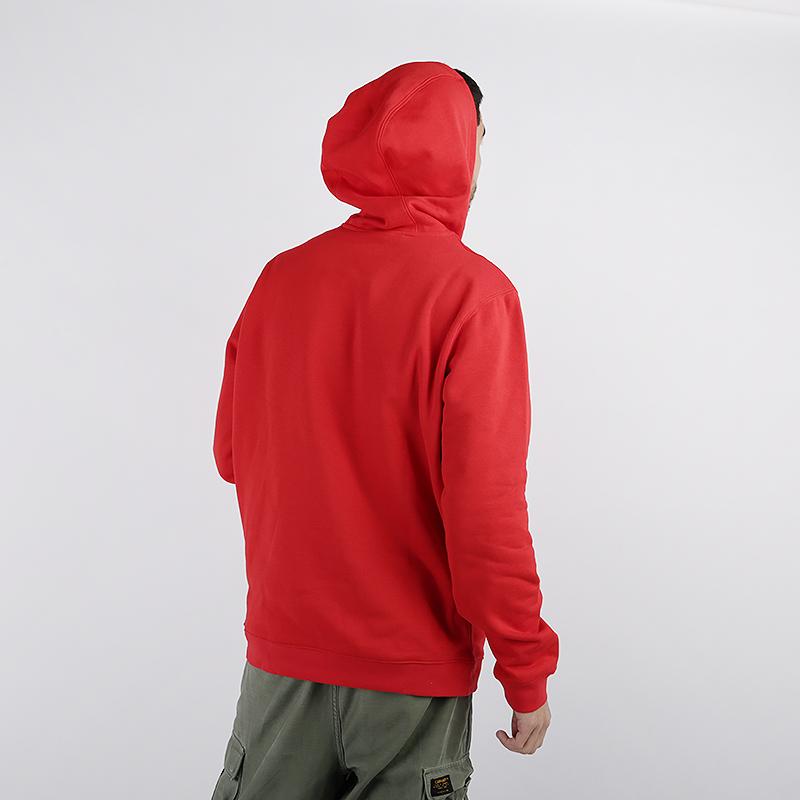 мужскую красную  толстовка nike chicago bulls hoodie AV0322-657 - цена, описание, фото 3