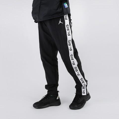 мужские чёрные  брюки jordan psg pant BV2023-010 - цена, описание, фото 1