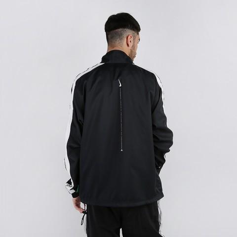 мужскую чёрную  куртку nike giannis freak track jacket CD9550-010 - цена, описание, фото 2