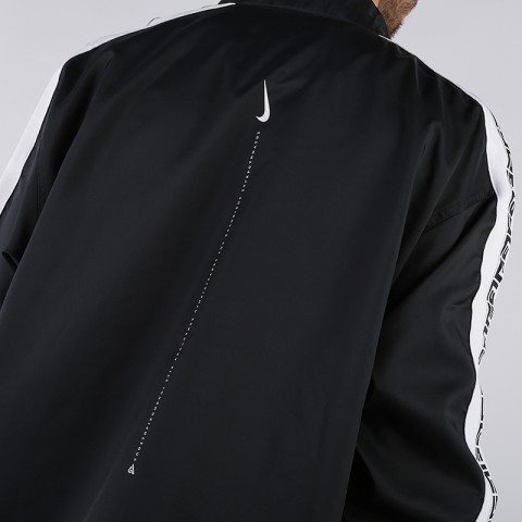 мужскую чёрную  куртку nike giannis freak track jacket CD9550-010 - цена, описание, фото 4