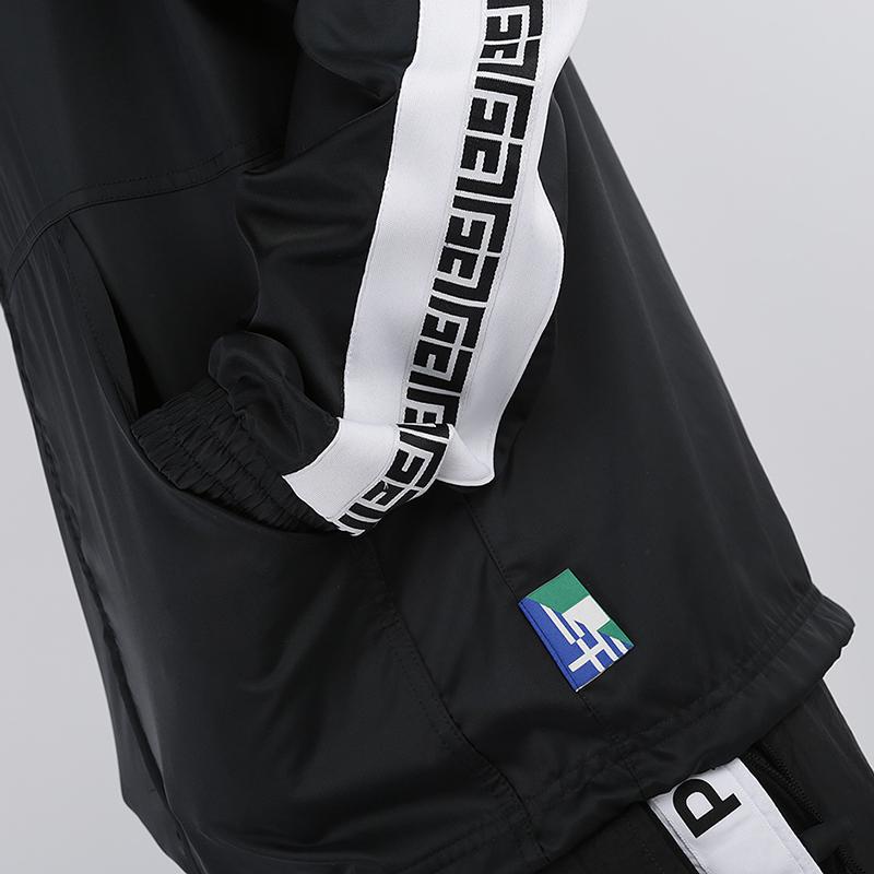 мужскую чёрную  куртку nike giannis freak track jacket CD9550-010 - цена, описание, фото 5