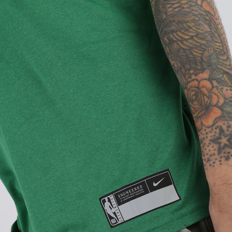 мужскую зелёную  майку nike boston celtics AT0606-312 - цена, описание, фото 4