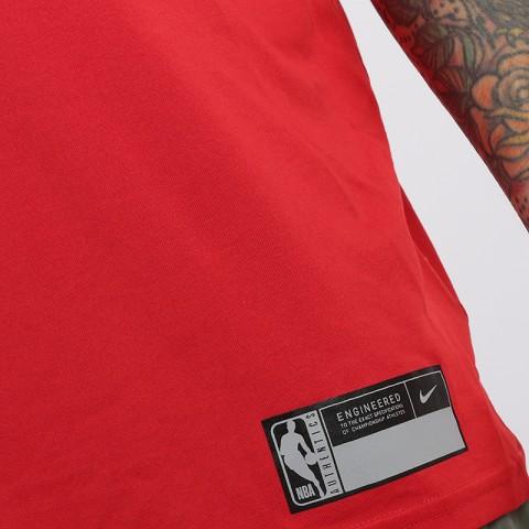 мужскую красную  майку nike chicago bulls AT0610-657 - цена, описание, фото 4