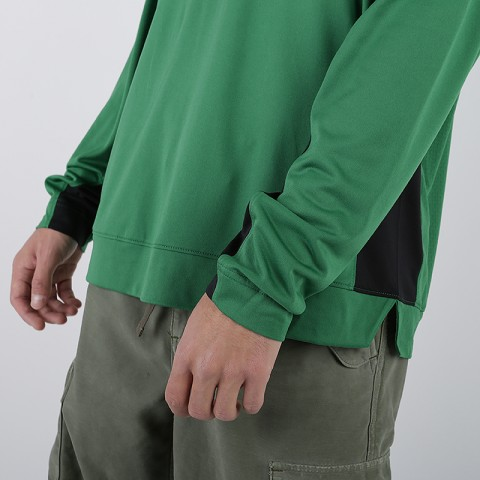 мужской зелёный  лонгслив nike nba boston celtics AT9379-312 - цена, описание, фото 4