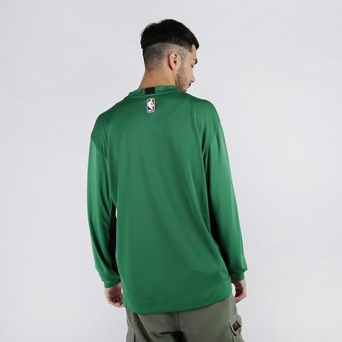 мужской зелёный  лонгслив nike nba boston celtics AT9379-312 - цена, описание, фото 2